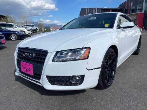 2012 Audi A5 for sale at Snyder Motors Inc in Bozeman MT