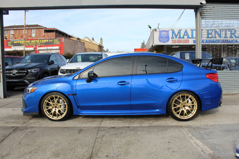 2018 Subaru WRX for sale at MIKEY AUTO INC in Hollis NY