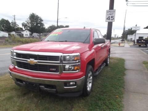 2014 Chevrolet Silverado 1500 for sale at Dietsch Sales & Svc Inc in Edgerton OH