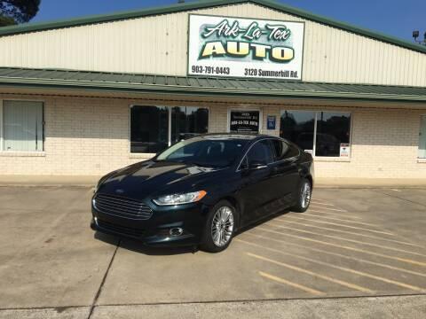2014 Ford Fusion for sale at ARKLATEX AUTO in Texarkana TX