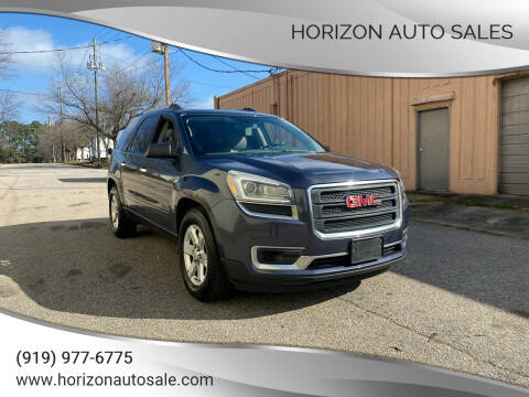 2013 GMC Acadia for sale at Horizon Auto Sales in Raleigh NC