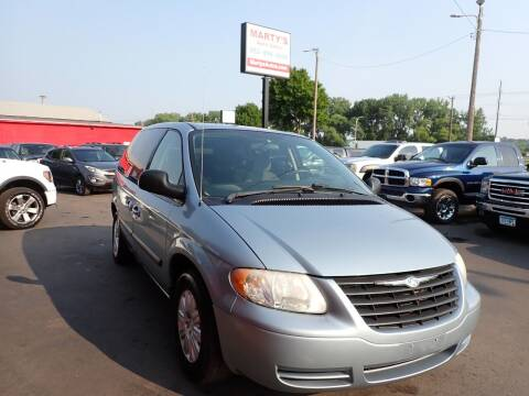 2006 Chrysler Town and Country for sale at Marty's Auto Sales in Savage MN
