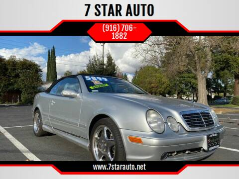 2000 Mercedes-Benz CLK for sale at 7 STAR AUTO in Sacramento CA