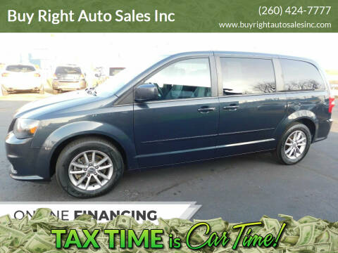 2014 Dodge Grand Caravan for sale at Buy Right Auto Sales Inc in Fort Wayne IN