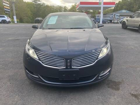 2013 Lincoln MKZ Hybrid for sale at 390 Auto Group in Cresco PA