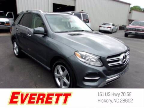 2018 Mercedes-Benz GLE for sale at Everett Chevrolet Buick GMC in Hickory NC
