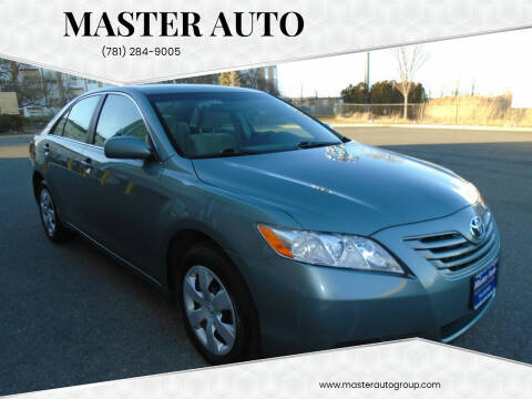 2009 Toyota Camry for sale at Master Auto in Revere MA
