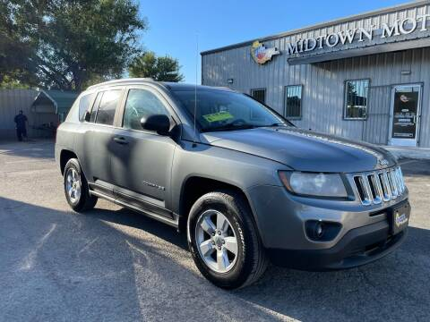 2014 Jeep Compass for sale at Midtown Motor Company in San Antonio TX