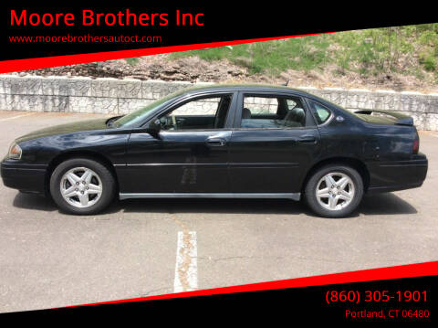 2005 Chevrolet Impala for sale at Moore Brothers Inc in Portland CT
