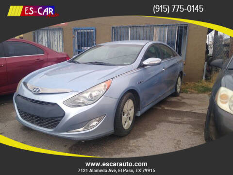 2011 Hyundai Sonata Hybrid for sale at Escar Auto in El Paso TX