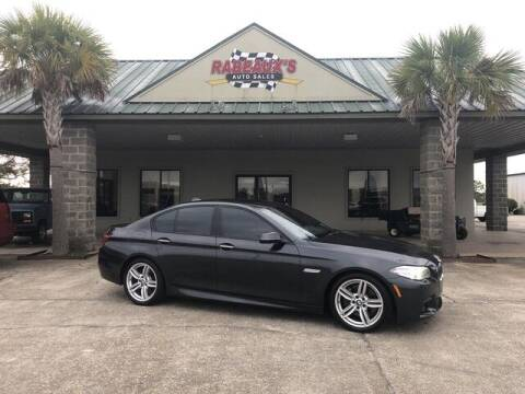 2015 BMW 5 Series for sale at Rabeaux's Auto Sales in Lafayette LA