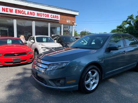2011 Ford Fusion for sale at New England Motor Cars in Springfield MA
