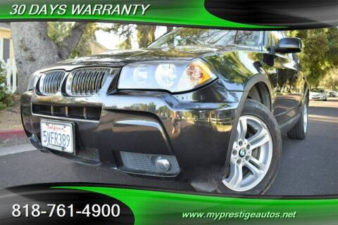 2006 BMW X3 for sale at Prestige Auto Sports Inc in North Hollywood CA