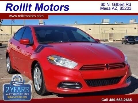 2013 Dodge Dart for sale at Rollit Motors in Mesa AZ