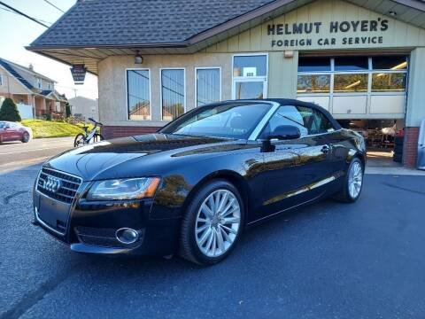 2011 Audi A5 for sale at Helmut Hoyer's Foreign Car Sales & Service in Allentown PA