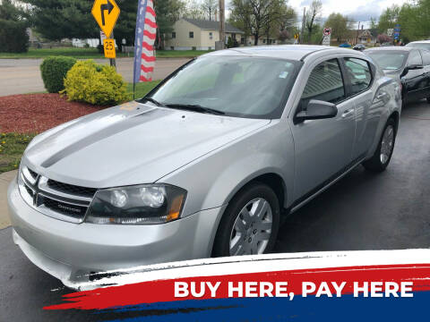 2012 Dodge Avenger for sale at Marti Motors Inc in Madison IL