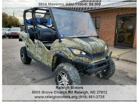 2014 Massimo MSU-1100-6 for sale at Raleigh Motors in Raleigh NC