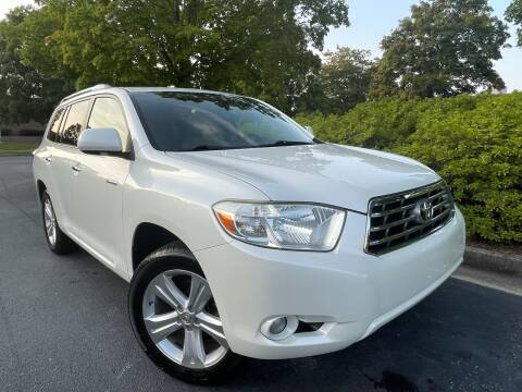 2008 Toyota Highlander for sale at William D Auto Sales in Norcross GA
