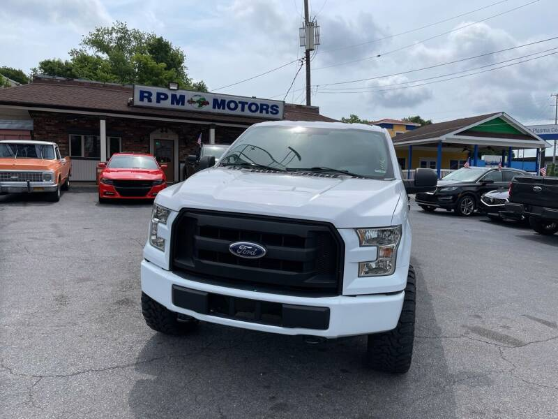 2016 Ford F-150 for sale at RPM Motors in Nashville TN