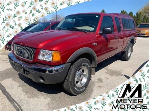 2001 Ford Ranger for sale at Meyer Motors in Plymouth WI