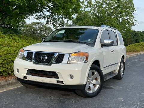 2011 Nissan Armada for sale at William D Auto Sales in Norcross GA
