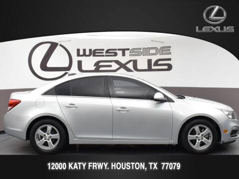 2016 Chevrolet Cruze Limited for sale at LEXUS in Houston TX