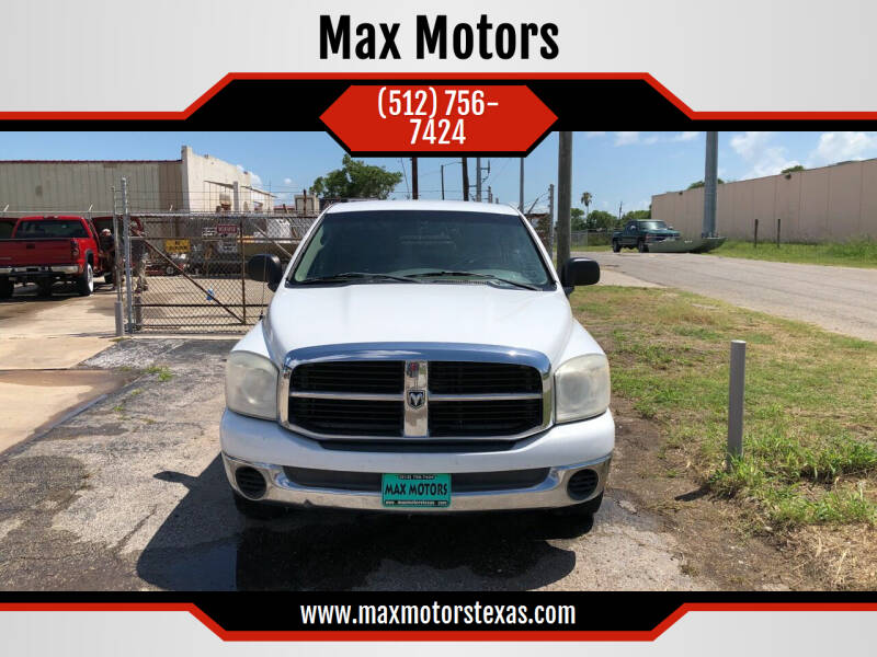 2007 Dodge Ram Pickup 1500 for sale at Max Motors in Corpus Christi TX
