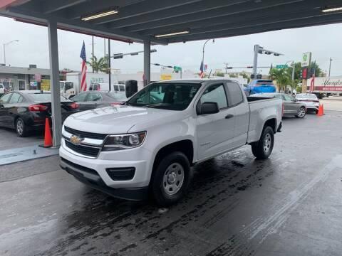 2018 Chevrolet Colorado for sale at American Auto Sales in Hialeah FL