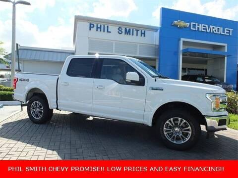 2018 Ford F-150 for sale at PHIL SMITH AUTOMOTIVE GROUP - Manager's Specials in Lighthouse Point FL