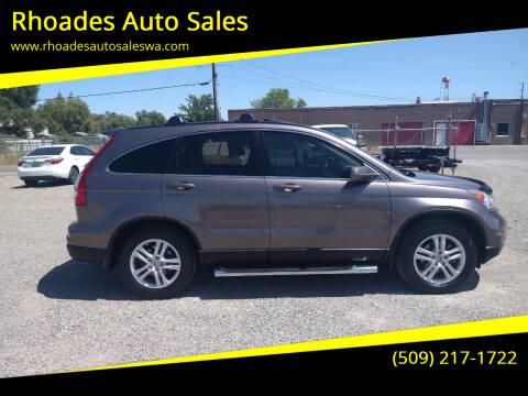 2011 Honda CR-V for sale at Rhoades Auto Sales in Spokane Valley WA
