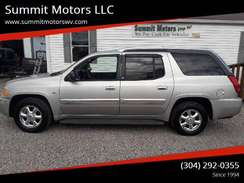 2004 GMC Envoy XUV for sale at Summit Motors LLC in Morgantown WV