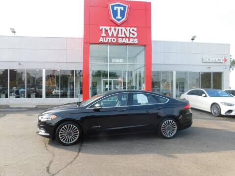 2018 Ford Fusion Hybrid for sale at Twins Auto Sales Inc Redford 1 in Redford MI