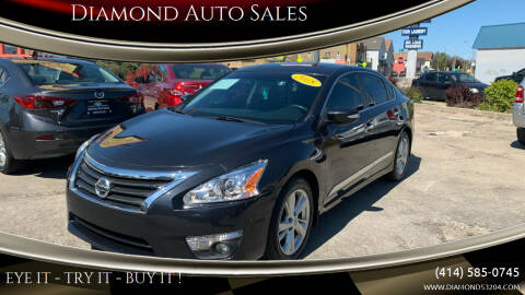 2015 Nissan Altima for sale at Diamond Auto Sales in Milwaukee WI