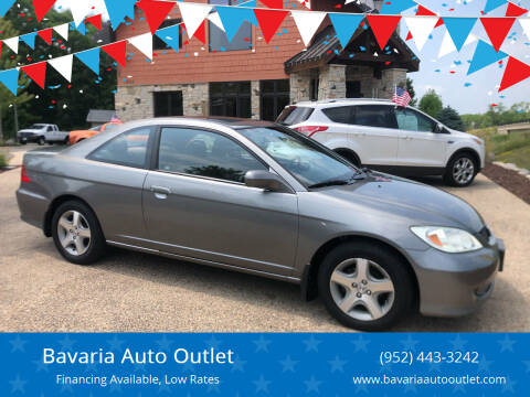 2005 Honda Civic for sale at Bavaria Auto Outlet in Victoria MN