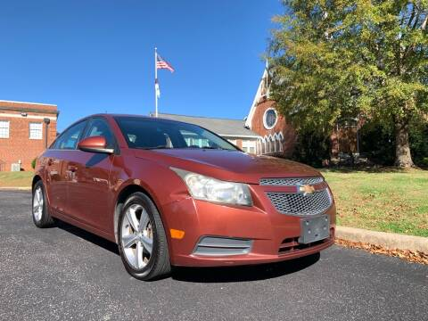 2013 Chevrolet Cruze for sale at Automax of Eden in Eden NC