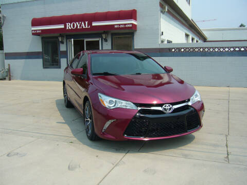 2016 Toyota Camry for sale at Royal Auto Inc in Murray UT
