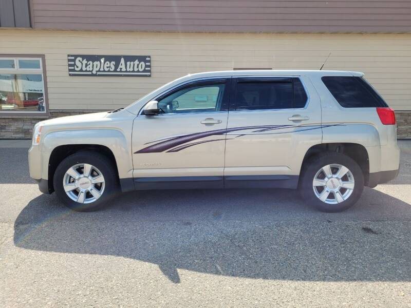 2012 GMC Terrain for sale at STAPLES AUTO SALES in Staples MN