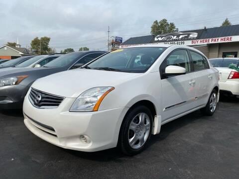 2010 Nissan Sentra for sale at WOLF'S ELITE AUTOS in Wilmington DE