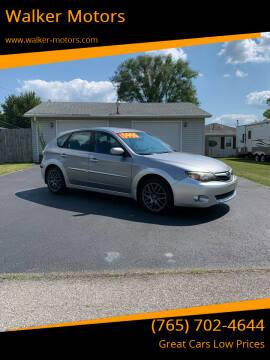 2011 Subaru Impreza for sale at Walker Motors in Muncie IN