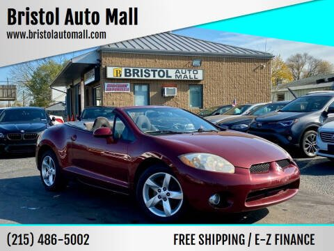 2007 Mitsubishi Eclipse Spyder for sale at Bristol Auto Mall in Levittown PA