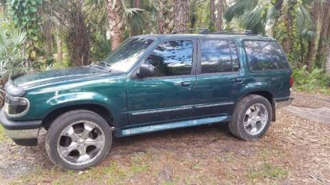 1995 Ford Explorer for sale at Classic Car Deals in Cadillac MI