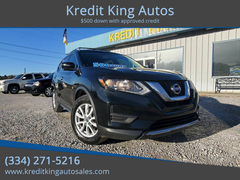 2017 Nissan Rogue for sale at Kredit King Autos in Montgomery AL