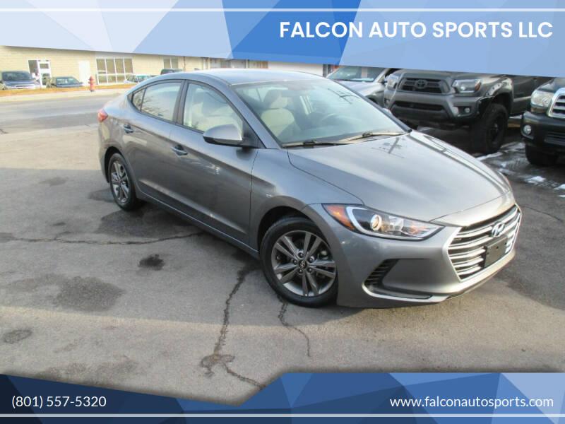 2018 Hyundai Elantra for sale at Falcon Auto Sports LLC in Murray UT