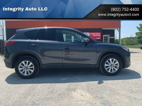 2016 Mazda CX-5 for sale at Integrity Auto LLC - Integrity Auto 2.0 in St. Albans VT