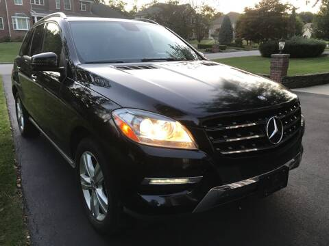 2013 Mercedes-Benz M-Class for sale at Volare Motors in Cranston RI