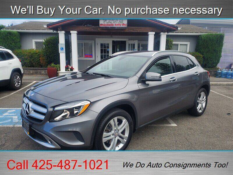 2016 Mercedes-Benz GLA for sale at Platinum Autos in Woodinville WA