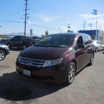 2012 Honda Odyssey for sale at Luxor Motors Inc in Pacoima CA