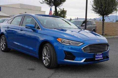 2019 Ford Fusion for sale at DIAMOND VALLEY HONDA in Hemet CA