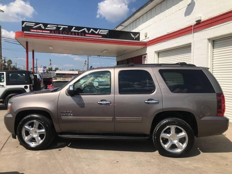 2011 Chevrolet Tahoe for sale at FAST LANE AUTO SALES in San Antonio TX