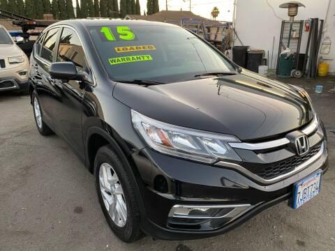 2015 Honda CR-V for sale at CAR GENERATION CENTER, INC. in Los Angeles CA
